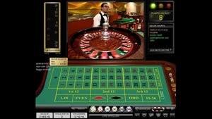online roulette tafel en live wiel met croupier